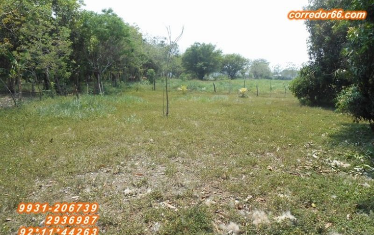 Foto de terreno habitacional en venta en  , 2 montes, centro, tabasco, 1557846 No. 08