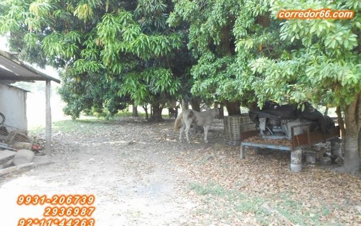 Foto de terreno habitacional en venta en  , 2 montes, centro, tabasco, 1557846 No. 10