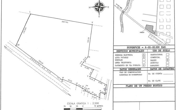 Foto de terreno habitacional en venta en  , 2 montes, centro, tabasco, 789399 No. 01