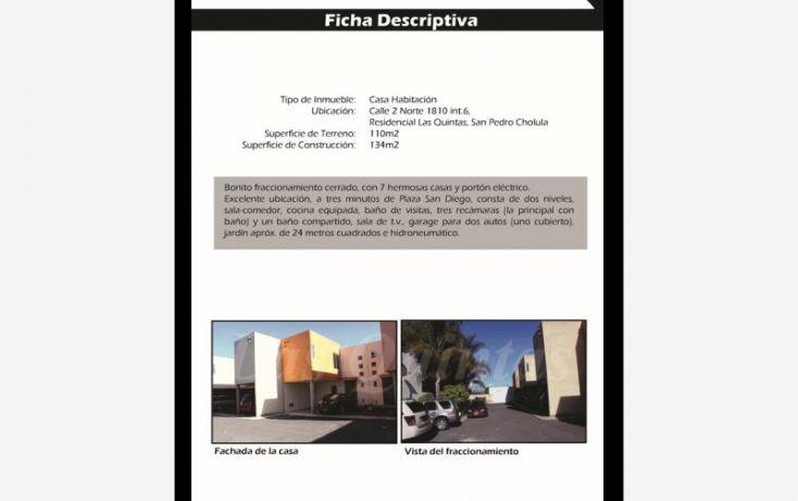 Foto de casa en venta en 2 norte 1810, casas yeran, san pedro cholula, puebla, 1648868 no 14
