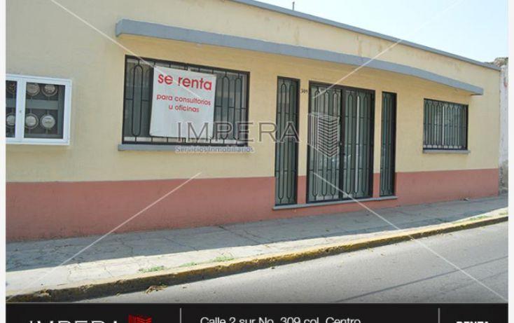 Foto de local en renta en 2 sur 309, insurgentes, tehuacán, puebla, 1004111 no 02