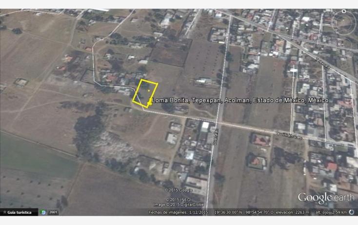 Foto de terreno habitacional en venta en  2, tepexpan, acolman, m?xico, 664589 No. 07