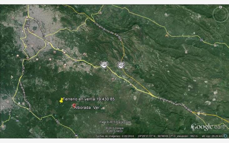 Foto de terreno comercial en venta en  20, alborada, emiliano zapata, veracruz de ignacio de la llave, 1634696 No. 02