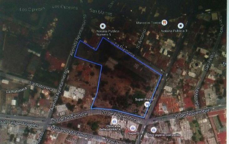 Foto de terreno habitacional en venta en 20 de noviembre 1, arboledas, san juan del río, querétaro, 2010604 no 01