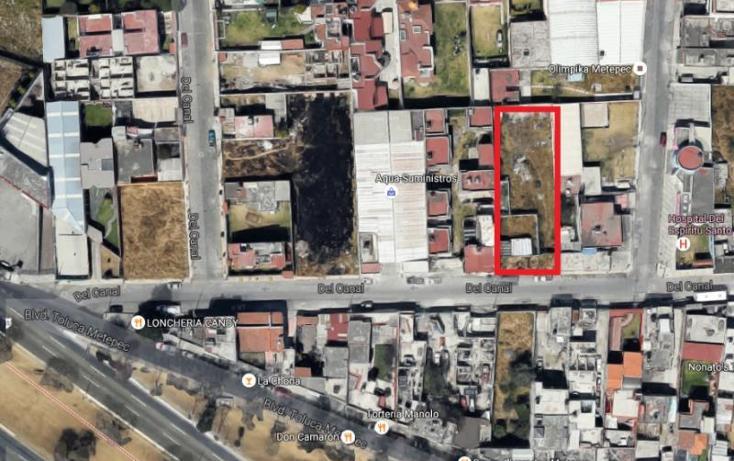 Foto de terreno habitacional en venta en  20, espíritu santo, metepec, méxico, 1573522 No. 01