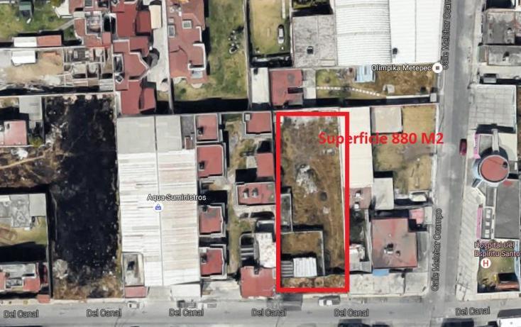 Foto de terreno habitacional en venta en  20, espíritu santo, metepec, méxico, 1573522 No. 02