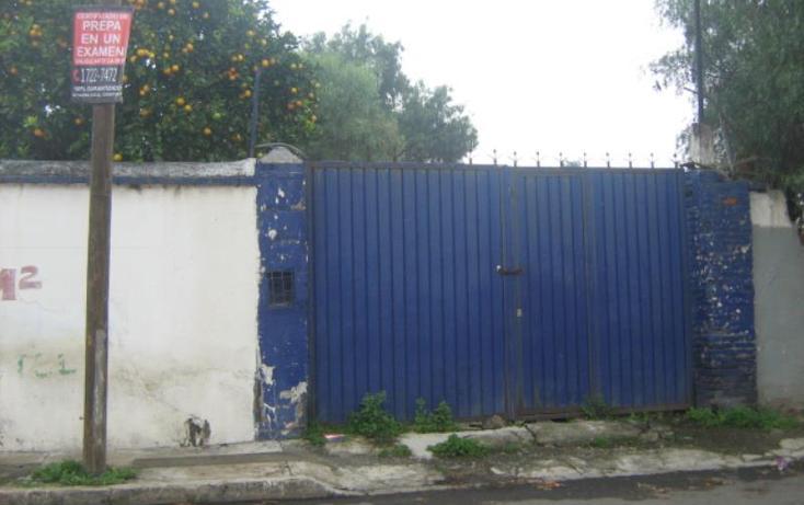 Foto de terreno comercial en venta en  20, granjas chalco, chalco, méxico, 609685 No. 01
