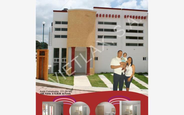 Foto de casa en venta en  201, cerrito de guadalupe, apizaco, tlaxcala, 962901 No. 01
