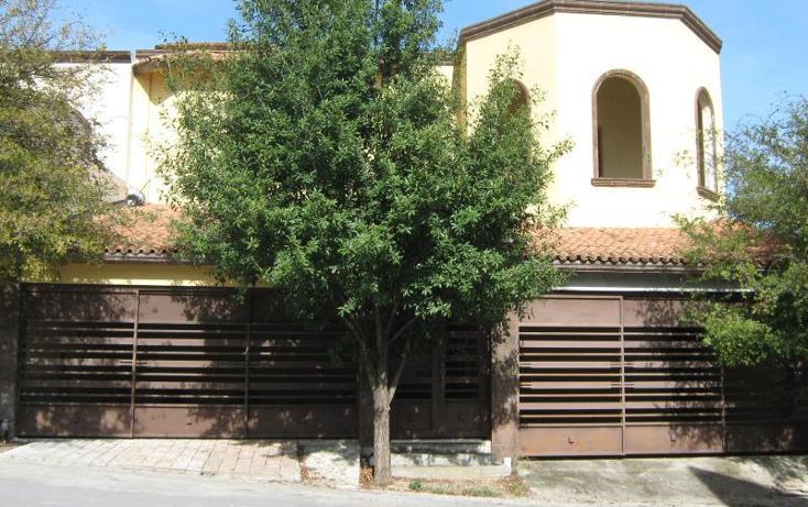 Foto de casa en venta en  203, bosques de valle alto 2 etapa, monterrey, nuevo león, 1744265 No. 01