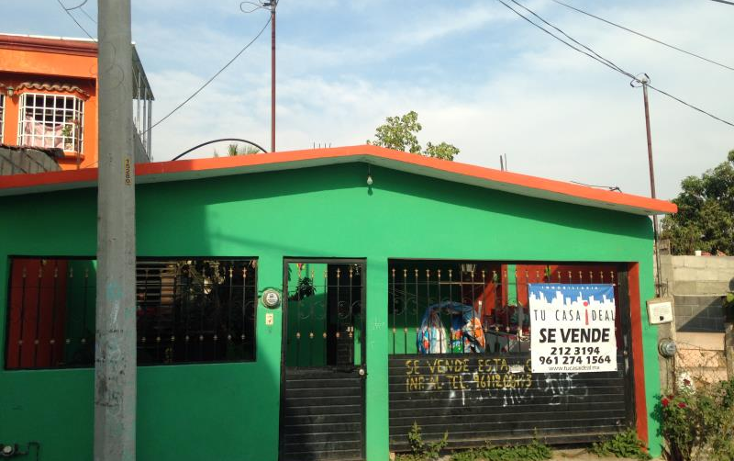Foto de casa en venta en  206, paulino aguilar paniagua, tuxtla gutiérrez, chiapas, 1047543 No. 01