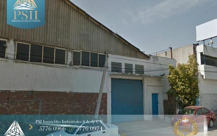 Foto de nave industrial en renta en  21, cerro gordo, ecatepec de morelos, méxico, 779249 No. 01