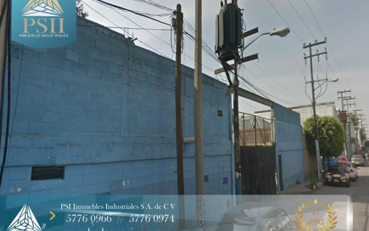 Foto de nave industrial en renta en  21, industrias ecatepec, ecatepec de morelos, méxico, 846345 No. 01