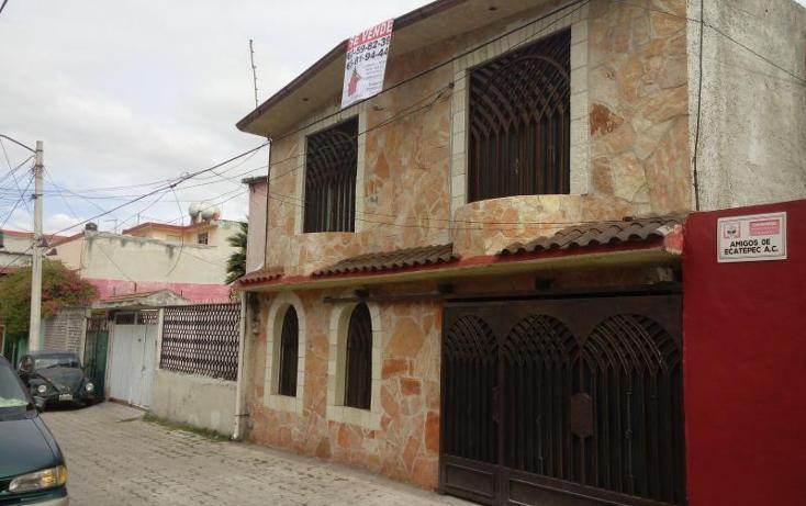 Foto de casa en venta en  21, renovación jajalpa, ecatepec de morelos, méxico, 1657084 No. 01