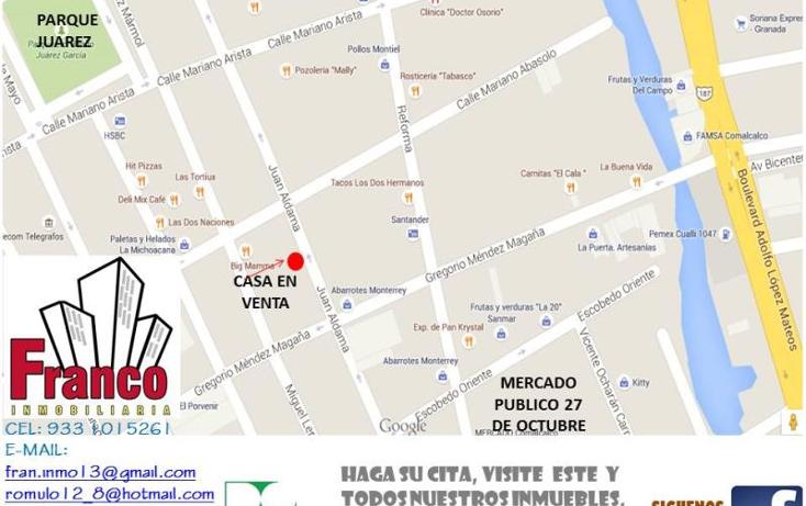 Foto de casa en venta en  210, comalcalco centro, comalcalco, tabasco, 1153393 No. 02
