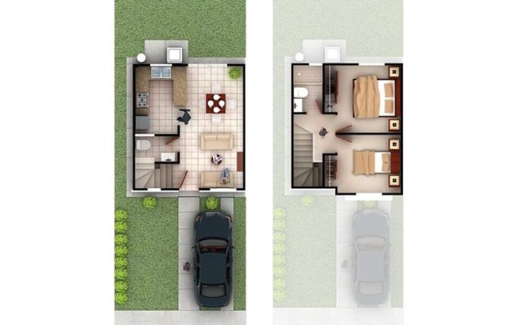 Foto de casa en venta en  211, verona, tijuana, baja california, 1316801 No. 02