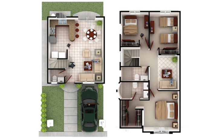 Foto de casa en venta en  211, verona, tijuana, baja california, 1528402 No. 03