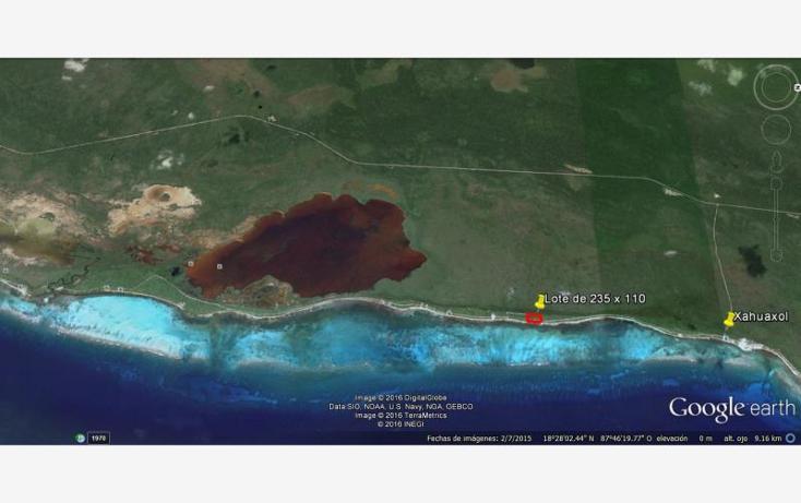 Foto de terreno comercial en venta en costera 22, mahahual, othón p. blanco, quintana roo, 1727350 No. 05