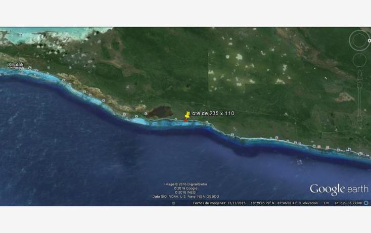 Foto de terreno comercial en venta en costera 22, mahahual, othón p. blanco, quintana roo, 1727350 No. 07