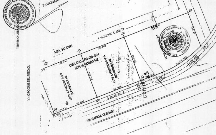 Foto de terreno comercial en venta en  22010, zona urbana r?o tijuana, tijuana, baja california, 1586404 No. 03