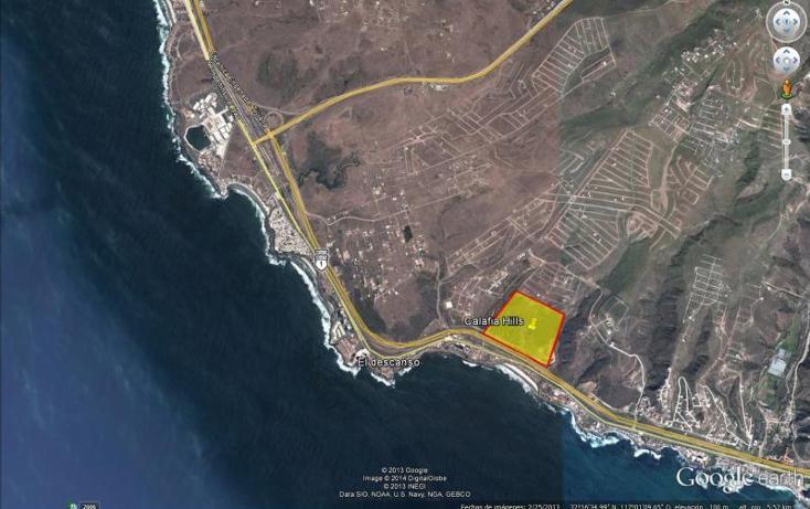 Foto de terreno comercial en venta en  22717, mar de calafia, playas de rosarito, baja california, 961397 No. 02