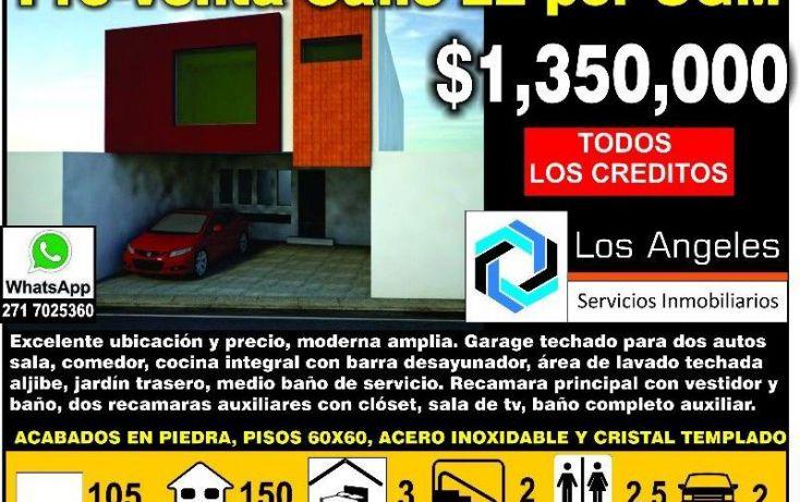 Foto de casa en venta en 22a 23443, nuevo san jose, córdoba, veracruz, 1979728 no 01