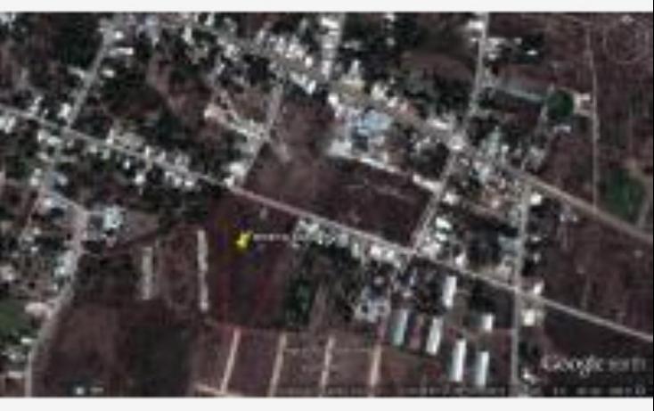Foto de terreno habitacional en venta en 23 1, ucu, ucú, yucatán, 526922 no 01