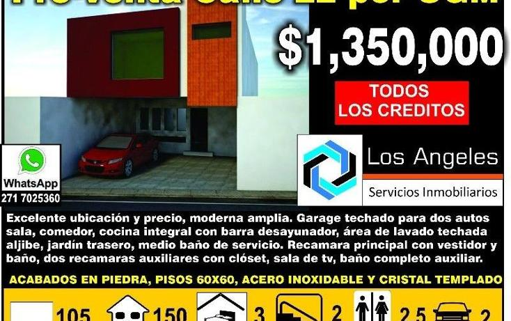 Foto de casa en venta en  23443, nuevo san jose, c?rdoba, veracruz de ignacio de la llave, 1979728 No. 01