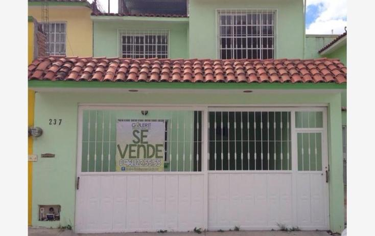 Foto de casa en venta en avenida cancer 237, la floresta, tuxtla gutiérrez, chiapas, 1010277 No. 01