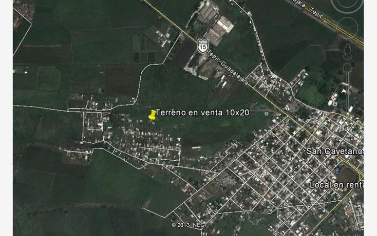 Foto de terreno habitacional en venta en  24, san cayetano, tepic, nayarit, 1529784 No. 06