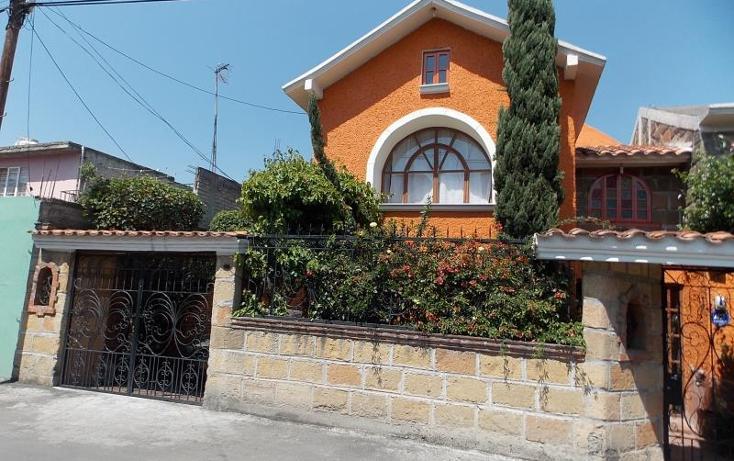 Foto de casa en venta en  24, san lorenzo la cebada, xochimilco, distrito federal, 1731410 No. 01