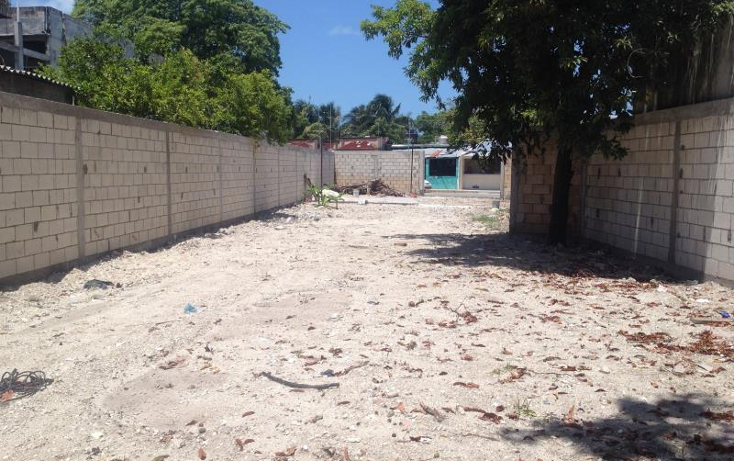 Foto de terreno habitacional en venta en  244, benito ju?rez, carmen, campeche, 1612060 No. 03
