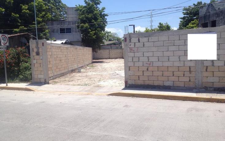 Foto de terreno habitacional en venta en  244, benito ju?rez, carmen, campeche, 1612060 No. 04