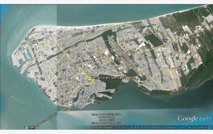 Foto de terreno habitacional en venta en  244, benito ju?rez, carmen, campeche, 1612060 No. 10