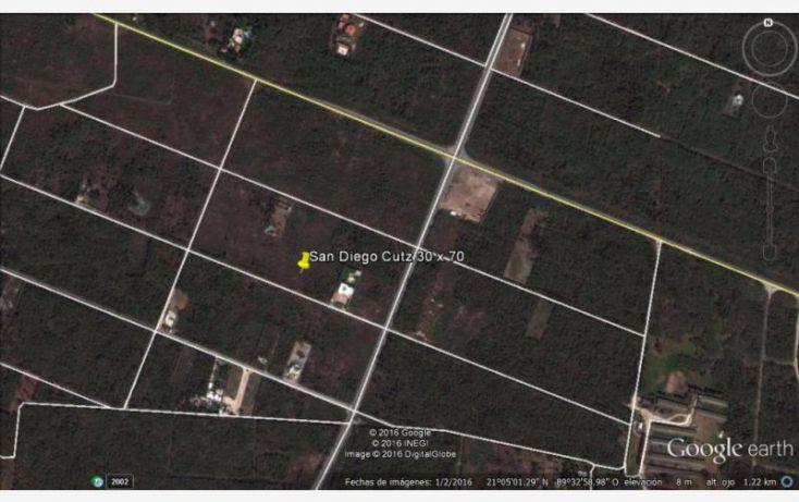 Foto de terreno habitacional en venta en 25 1, conkal, conkal, yucatán, 1752832 no 01