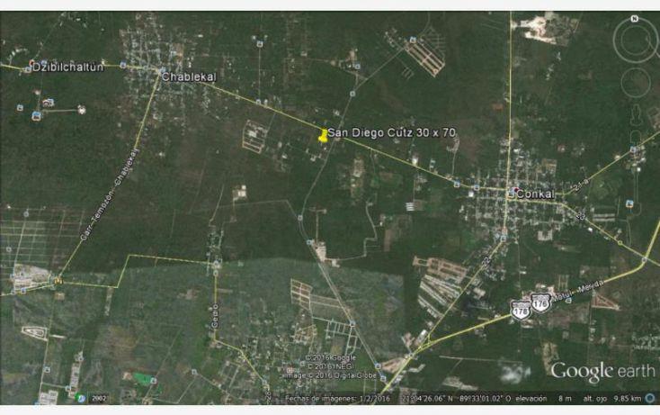 Foto de terreno habitacional en venta en 25 1, conkal, conkal, yucatán, 1752832 no 02