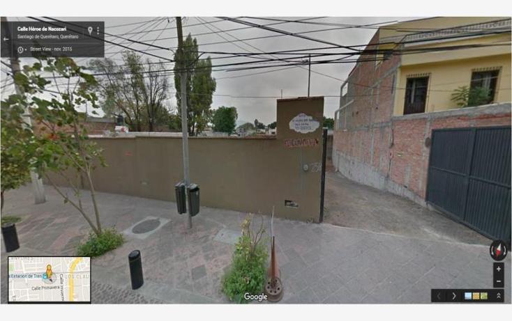 Foto de terreno comercial en venta en  25 b, centro sct querétaro, querétaro, querétaro, 1996778 No. 01
