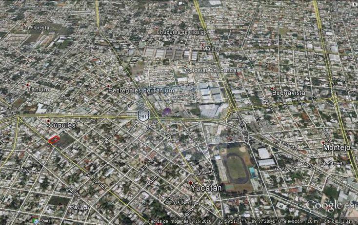 Foto de terreno habitacional en venta en 25, yucatan, mérida, yucatán, 1754574 no 06