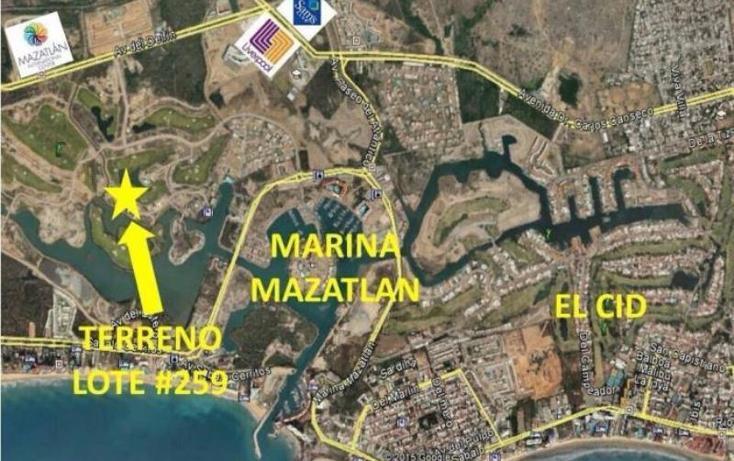 Foto de terreno habitacional en venta en  259, marina mazatlán, mazatlán, sinaloa, 1543046 No. 03