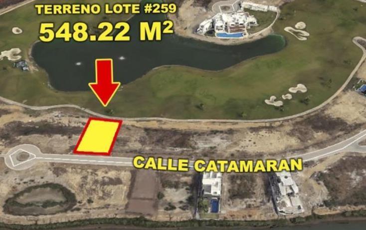 Foto de terreno habitacional en venta en catamaran 259, marina mazatlán, mazatlán, sinaloa, 1543046 No. 04