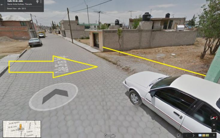 Foto de terreno habitacional en venta en 26 de julio 37, adolfo lopez mateos, apizaco, tlaxcala, 2008412 no 01