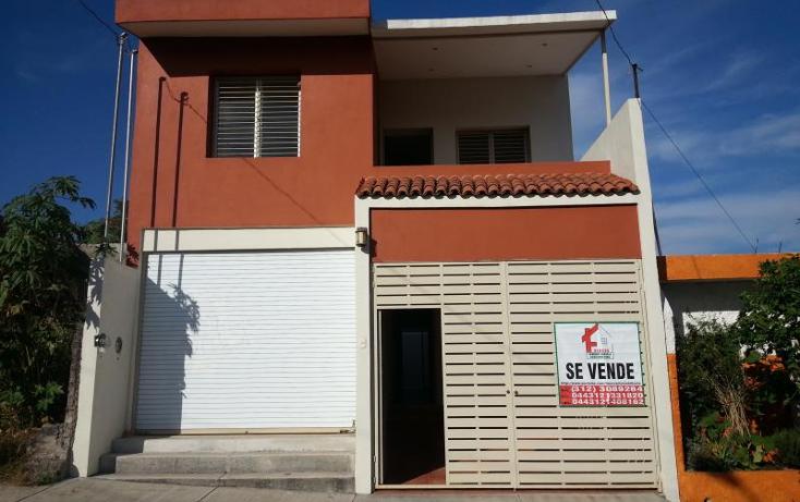 Foto de casa en venta en  264, solidaridad, villa de ?lvarez, colima, 374688 No. 01