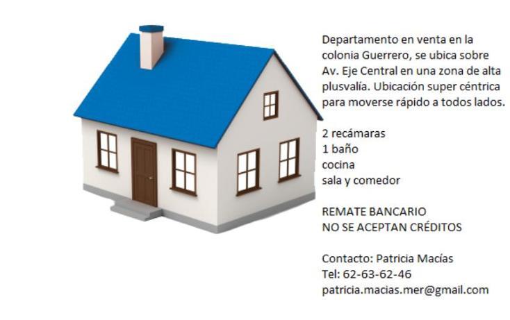 Foto de departamento en venta en avenida eje central lázaro cárdenas 268, guerrero, cuauhtémoc, distrito federal, 2682780 No. 02