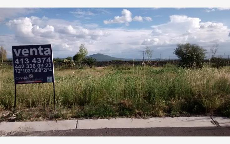 Foto de terreno habitacional en venta en santo domingo 27, el campanario, querétaro, querétaro, 573393 No. 01