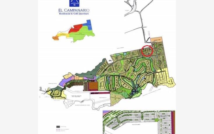 Foto de terreno habitacional en venta en  27, el campanario, querétaro, querétaro, 573393 No. 02