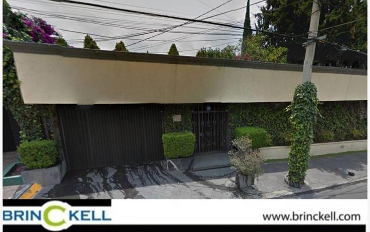 Foto de casa en venta en  270, jardines del pedregal, ?lvaro obreg?n, distrito federal, 1578738 No. 01
