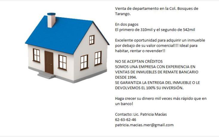Foto de departamento en venta en rinconada centenario 28, bosques de tarango, álvaro obregón, distrito federal, 2707279 No. 02