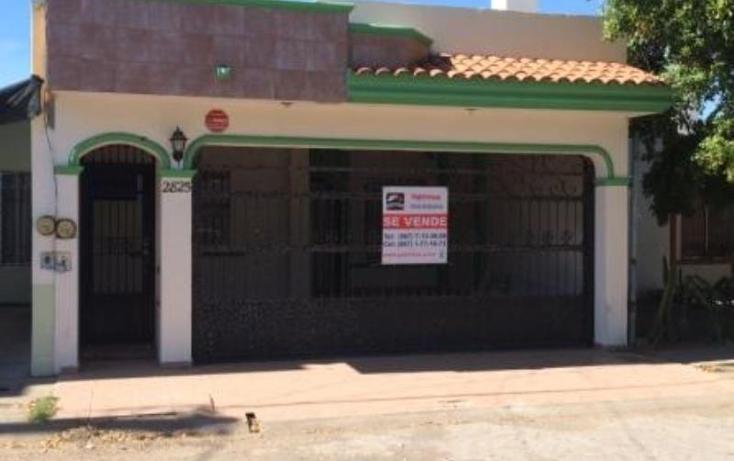 Foto de casa en venta en  2825, villas del rio, culiacán, sinaloa, 784047 No. 01