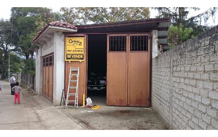 Foto de terreno habitacional en venta en 2a. avenida oriente sur s/n , ramajal, teopisca, chiapas, 1715908 No. 01