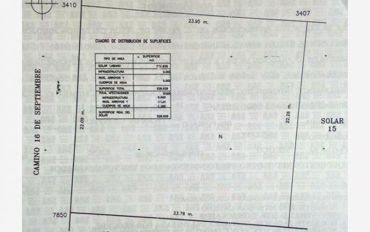 Foto de terreno habitacional en venta en 2a privada alcatraces 400 sur, san antonio, metepec, estado de méxico, 1075325 no 02