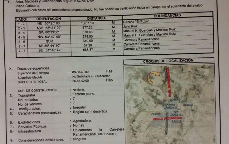 Foto de rancho en venta en, 2do barrio, ahumada, chihuahua, 1528720 no 02